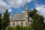 Capela Earlham, no cemitério municipal.