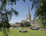 A mais famosa catedral de Norwich foi construída em 1.075 pelos normandos, após conquistarem a Grã-Bretanha.