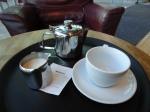 Meu chazinho no café Marzano, The Forum.