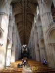 Desde 1145, o arcos circulares e as pilastras continuam do mesmo modo, sem retoques. A maior diferença talvez seja que, originalmente, o trabalho em pedra devia ser pintado.
