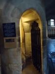 Havia muitas portinhas lindas na catedral, tenho que fazer um post só sobre elas. E esta estava aberta!